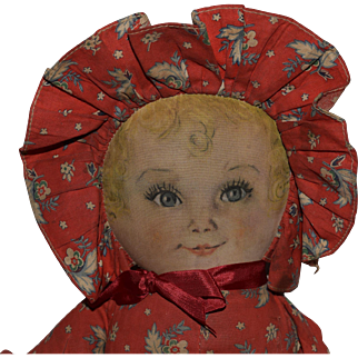 """Maude Tausey Fangel Cloth """"Sweets"""" Doll by Averill"""