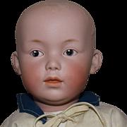 Gebruder Heubach Solid Dome German Bisque Head Character Baby
