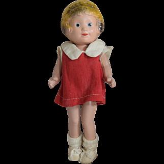 Little Orphan Annie Composition Doll by Freundlich