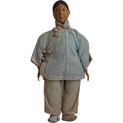 Door of Hope Chinese Wooden Head Young Lady Doll
