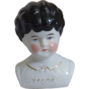 "German Pet Name China Head ""Helen"" by Hertwig & Company"