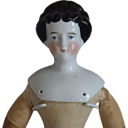 Conta & Boehme German China Head Doll with Fancy Hairstyle