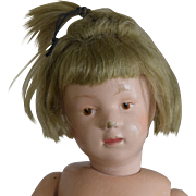 Early Wooden Schoenhut Doll