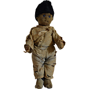 Steiff German Boy Felt Child Doll