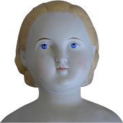German Alt, Beck & Gottschalck Bisque Head Doll with Alice Hairstyle
