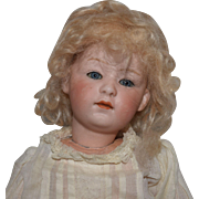 German Bisque Heubach Bisque Head Character Doll