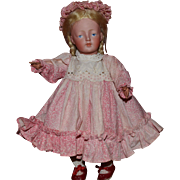 German Bisque Head Character Doll 178 by Kestner
