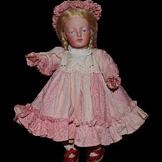 German Bisque Head Character Doll 178 by Kestner