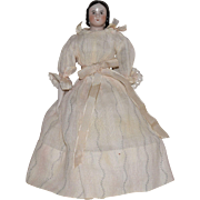 Rare Petite China Head Doll with Sophia Smith Hairstyle
