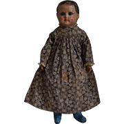 Rare and Early Alabama Baby Cloth Doll by Ella Smith