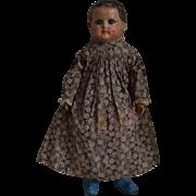 Rare and Early Alabama Baby Cloth Doll by Ella Smith