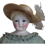 Early French Fashion Lady Doll by Blampoix