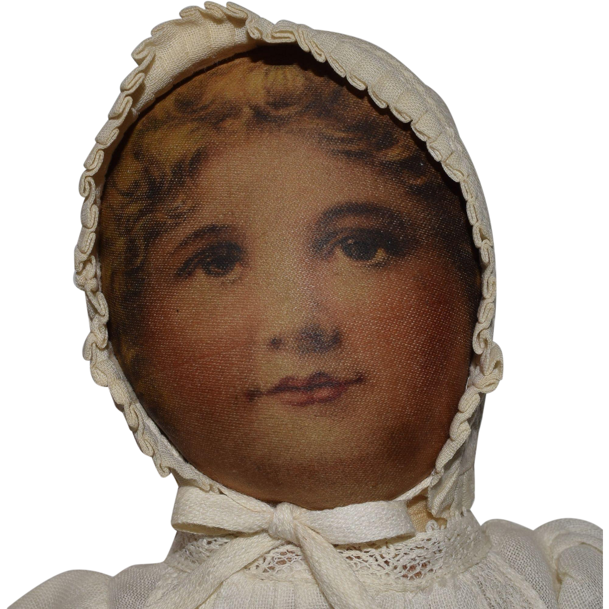 Babyland Rag Cloth Doll with Lithographed Face