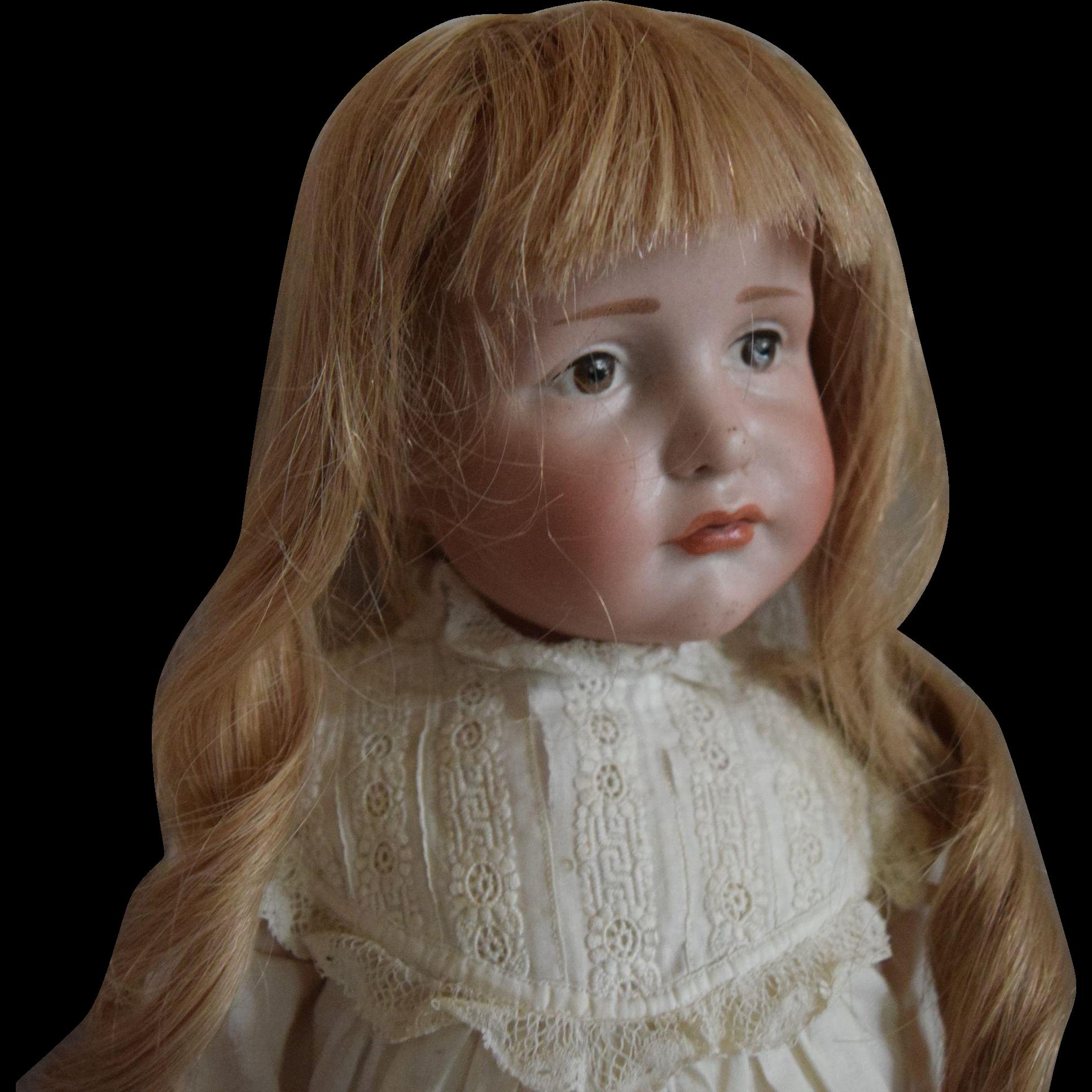 """Kammer & Reinhardt Bisque Head Character Doll 114 """"Gretchen"""""""