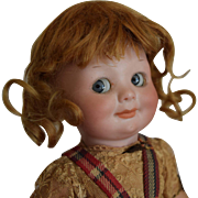 Antique German Bisque Head Googly Doll