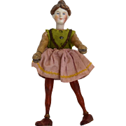 Schoenhut Wooden Lady Circus Rider with Bisque Head