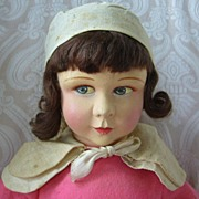 Raynal French Cloth Doll in Original Costume