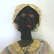 All Original West Indies Black Cloth Doll