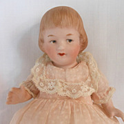 Sweet German All Bisque Gebruder Heubach Child Doll
