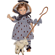 R. John Wright Nursery Rhyme Series Little Bo-Peep with her Lamb