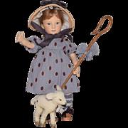 R. John Wright Nursery Rhyme Series Little Bo-Peep with her Lamb