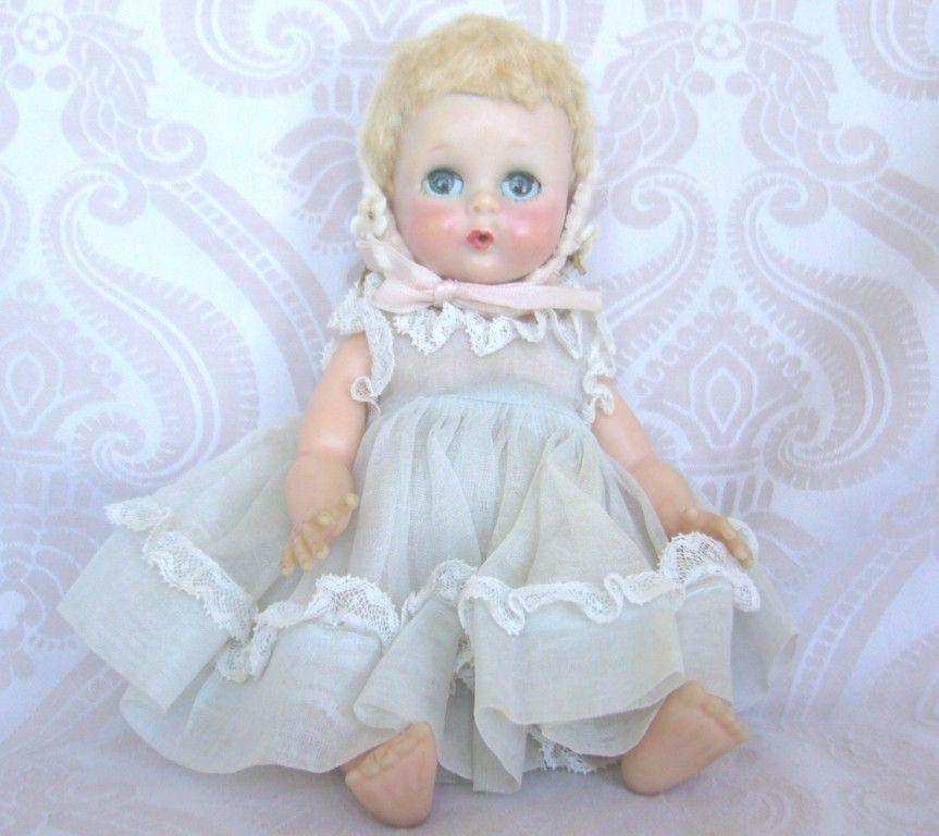 """Madame Alexander """"Little Genius"""" Doll in Original Dress"""