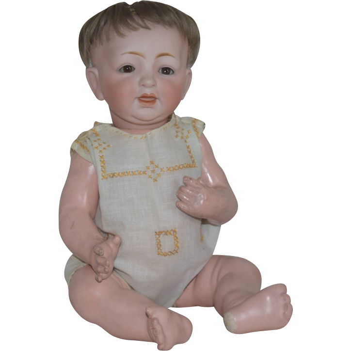 Kestner German Bisque Head Character Baby 211
