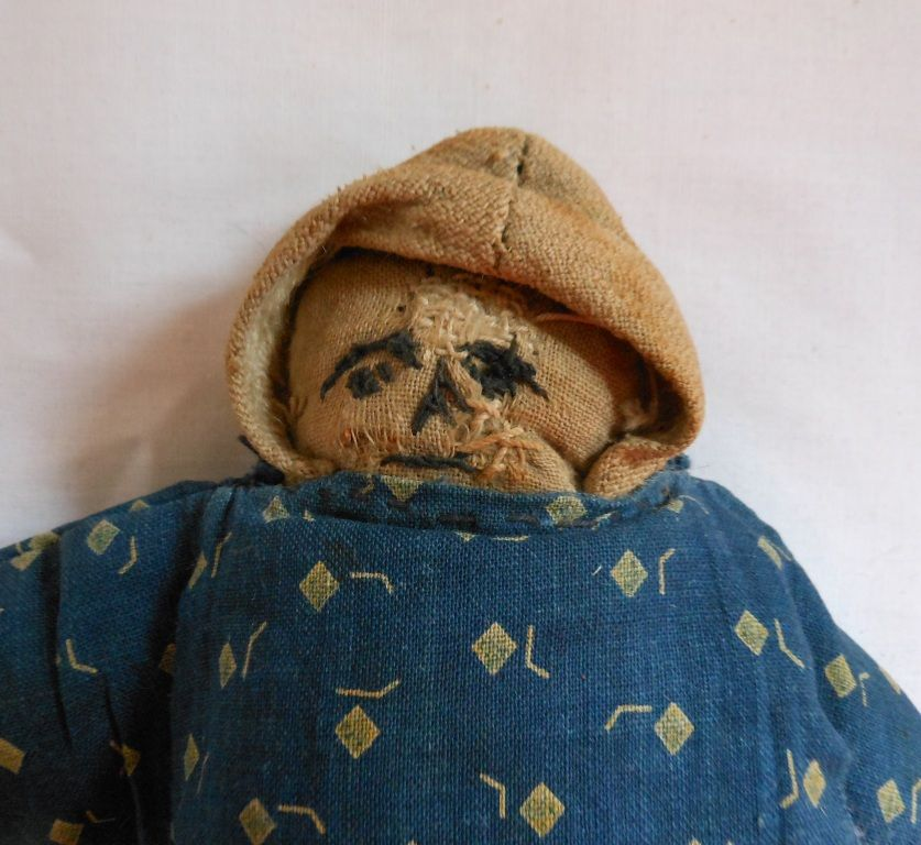Somewhat Strange But Oddly Appealing Hand Made Cloth Doll