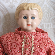 Minerva German Tin Head Doll