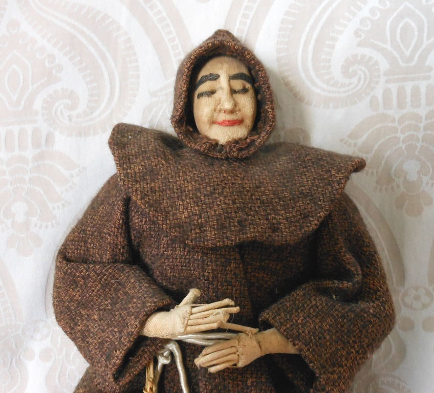 Bullock's Dolls From Many Lands Cloth Monk