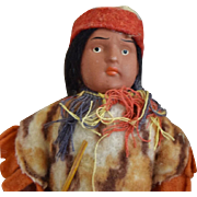 Native American Doll in Original Costume