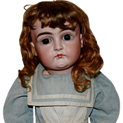 German Bisque Closed Mouth Doll by Kestner