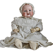 Bonnie Baby Bisque Head Character Baby by Georgene Averill