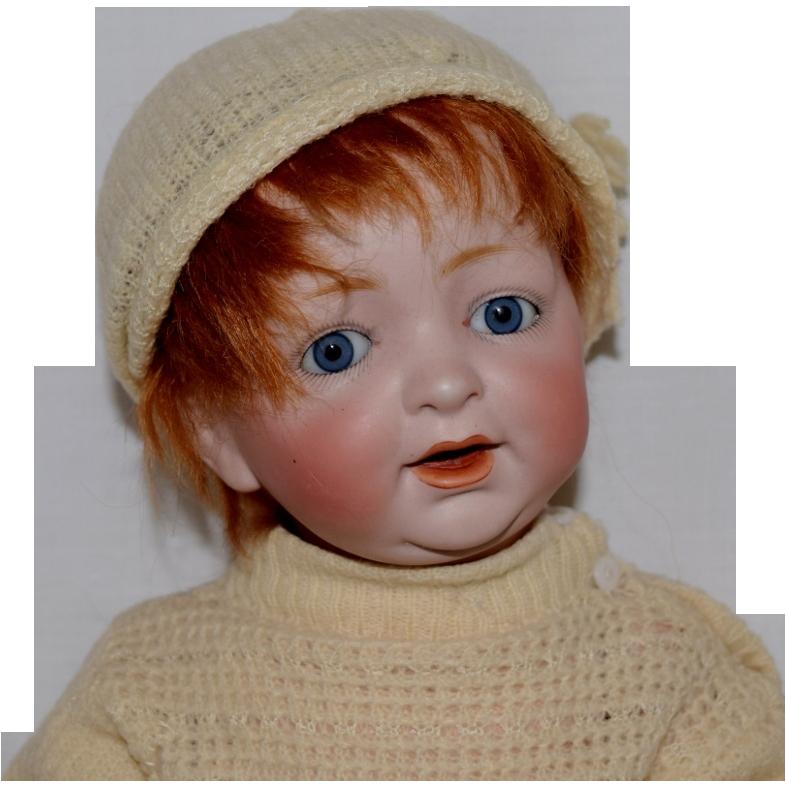 Kestner German Bisque Head Character Baby