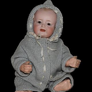 Kley & Hahn German Bisque Head Character Baby