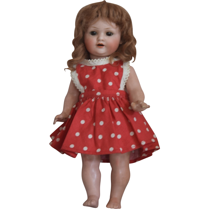 Bahr & Proschild Bisque Head Character Toddler