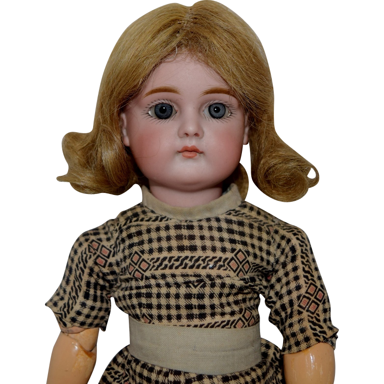 Kestner German Bisque Closed Mouth Child Doll