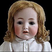 German Bisque Head Character Baby 128 by Kammer & Reinhardt