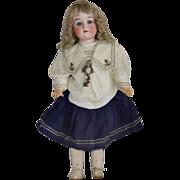 All Original German Bisque Head Doll by Schoenau & Hoffmeister - Red Tag Sale Item