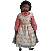 OOAK Cloth Black Artist Doll by Rhonda King