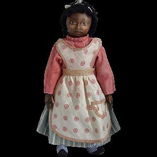 OOAK Cloth Black Artist Doll by Rhonda King