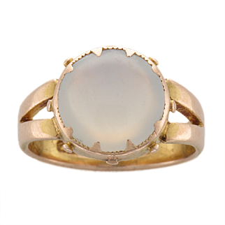 Antique Gustavus Seifert Moonstone Ring