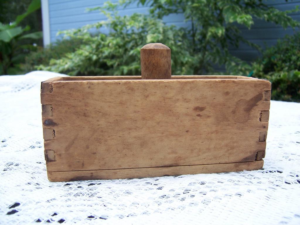 Wooden Butter Mold & Press