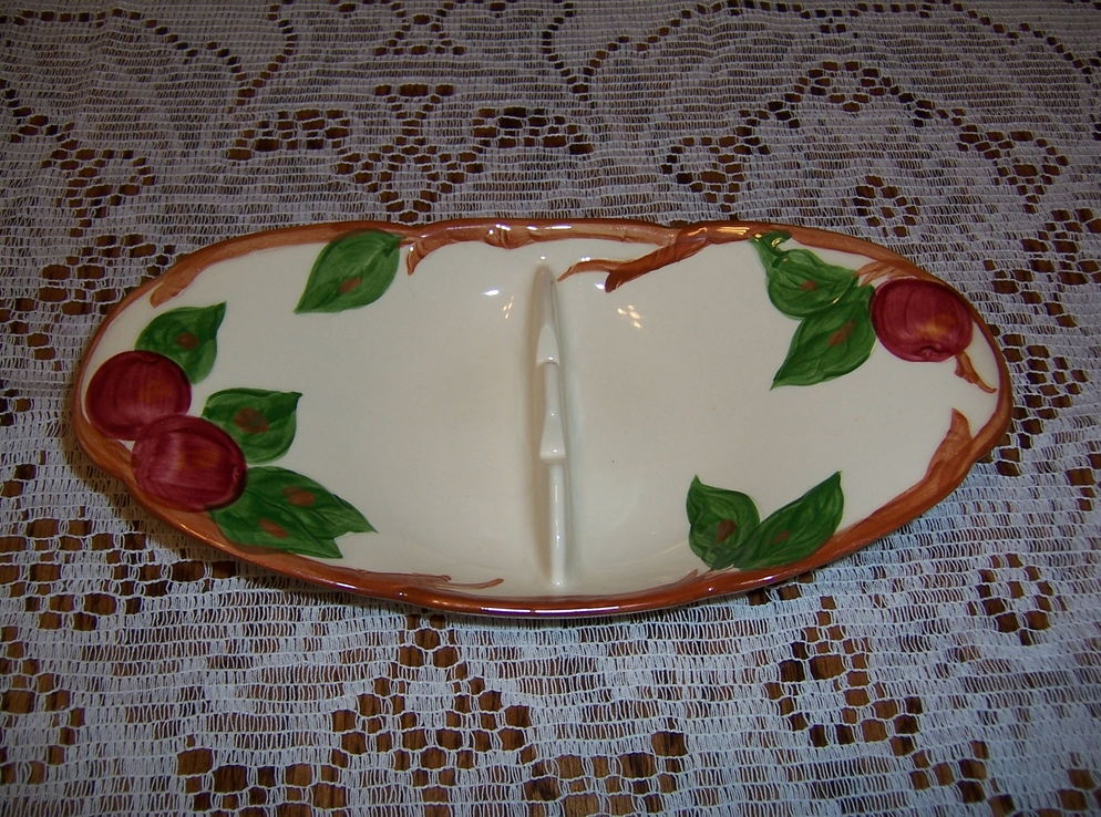 "Franciscan ""Apple"" Pattern Large Ashtray"