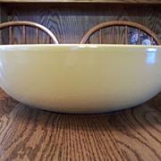 Yellow Matte Finish La Solana Pottery Bowl