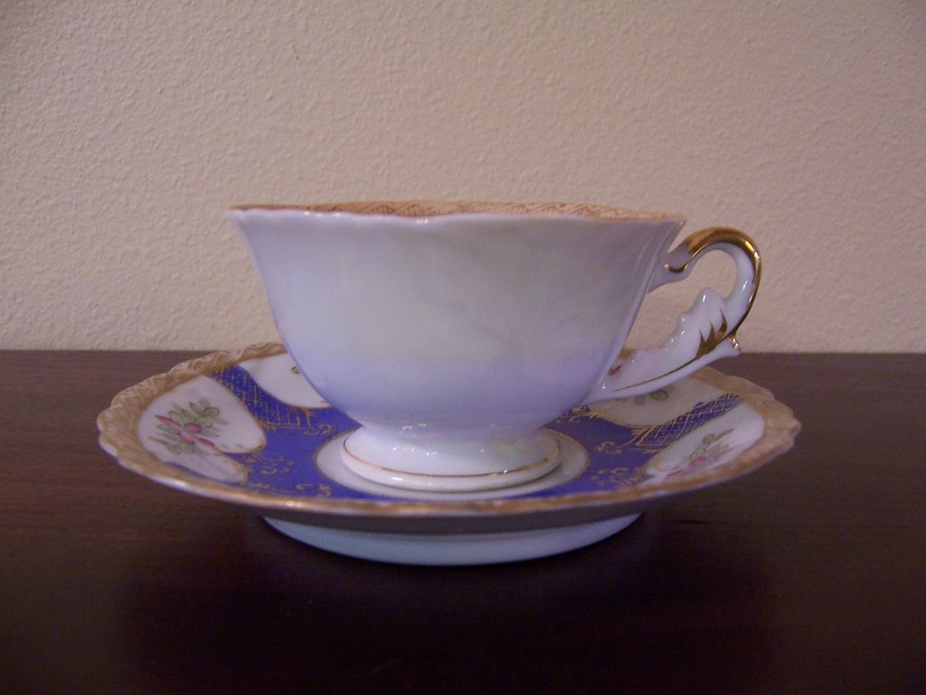 Ucagco China Teacup & Saucer, Occupied Japan