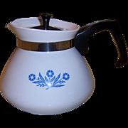 "Vintage Corning Ware ""Blue Cornflower"" 6 Cup Teapot"
