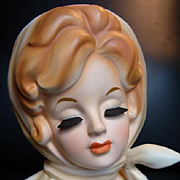 WONDERFUL 1960's Redhead ANN MARGARET Head Vase Inarco E-779n Headvase