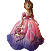 GORGEOUS Very Hard To Find JOSEF Originals TULIP From Flower Belles Series Figurine