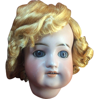"Beautiful Vintage Blond Vintage Doll Wig Size 11"" Unknown Fiber"